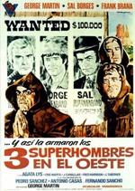 Los tres superhombres en el oeste (1973)