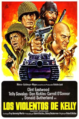 Los violentos de Kelly (1970)