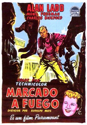 Marcado a fuego (1950)