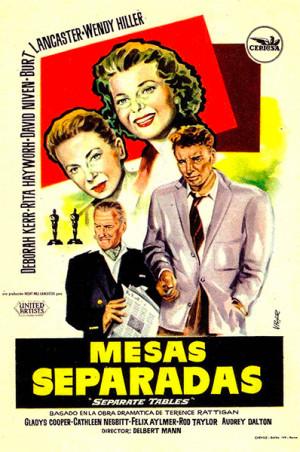 Mesas separadas (1958)