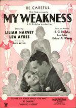 Mi debilidad (1933)