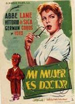 Mi mujer es doctor