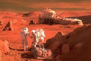 ¿Vida en el planeta rojo?