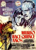 Murió hace quince años (1954)
