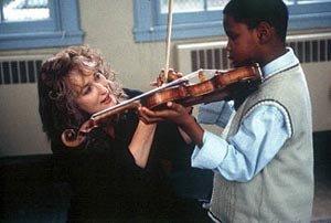 La profesora de violín