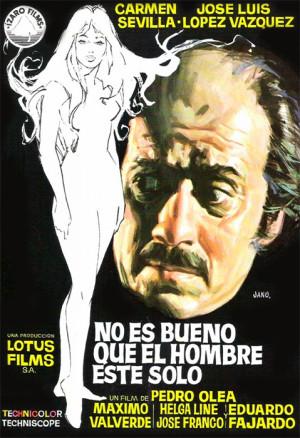 No es bueno que el hombre esté solo (1973)