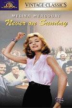 Nunca en domingo (1960)