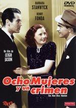 Ocho mujeres y un crimen (1938)