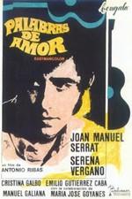 Palabras de amor (1968)