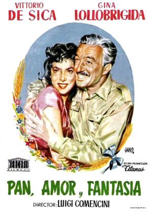 Pan, amor y fantasía (1953)