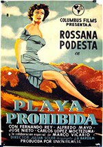 Playa prohibida (1956)