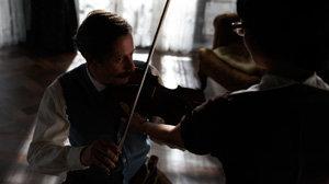El violinista melancólico