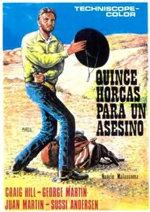 Quince horcas para un asesino (1968)