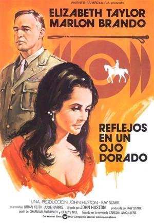 Reflejos en un ojo dorado (1967)