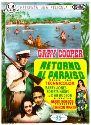 Retorno al paraíso (1953)