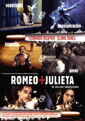 Romeo y Julieta, de William Shakespeare (1996)
