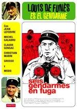Seis gendarmes en fuga (1970)