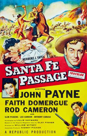 Senderos de violencia (1955)
