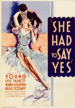 She Had to Say Yes (1933)