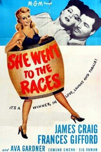 She Went to the Races (1945)