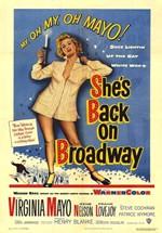 She's Back on Broadway (1953)