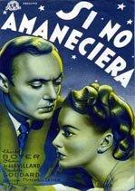 Si no amaneciera (1941)