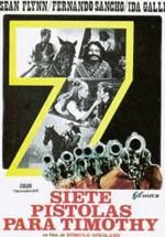 Siete pistolas para Timothy (1966)