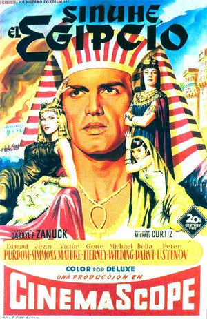 Sinuhé, el egipcio (1954)