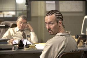 El oficial de la condicional