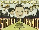 Street of Chance (1930)