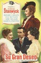 Su gran deseo (1953)