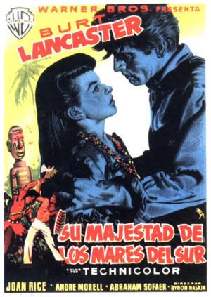 Su majestad de los mares del Sur (1954)