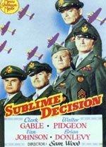 Sublime decisión (1948)