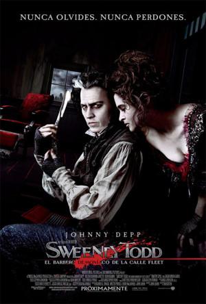 Sweeney Todd, el diabólico barbero de la calle Fleet (2007)
