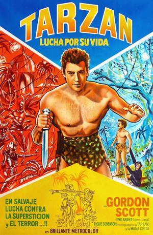 Tarzán lucha por su vida (1958)