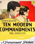 Ten Modern Commandments (1927)