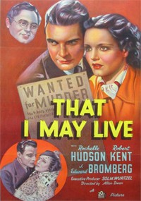 That I May Live (1937)