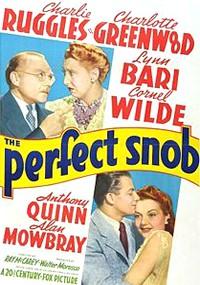 The Perfect Snob (1941)
