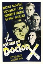 The Return of Dr. X (1939)