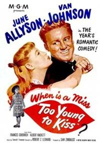 Demasiado joven para besar (1951)