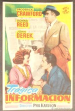Trágica información (1952)