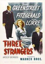 Tres extraños