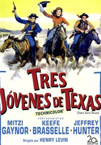 Tres jóvenes de Texas
