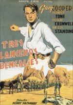 Tres lanceros bengalíes (1935)