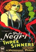 Tres pecadores (1928)