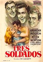 Tres soldados (1951)