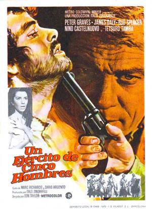 Un ejército de cinco hombres (1969)