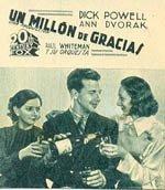 Un millón de gracias (1935)