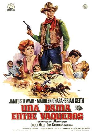 Una dama entre vaqueros (1966)