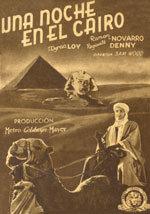 Una noche en El Cairo (1933)